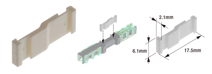 圧接中継コネクタ用連結板
